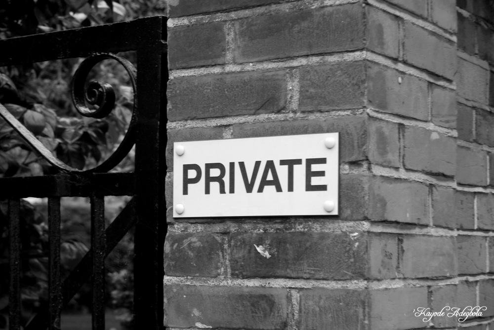 "photoblog image ""Private!"""